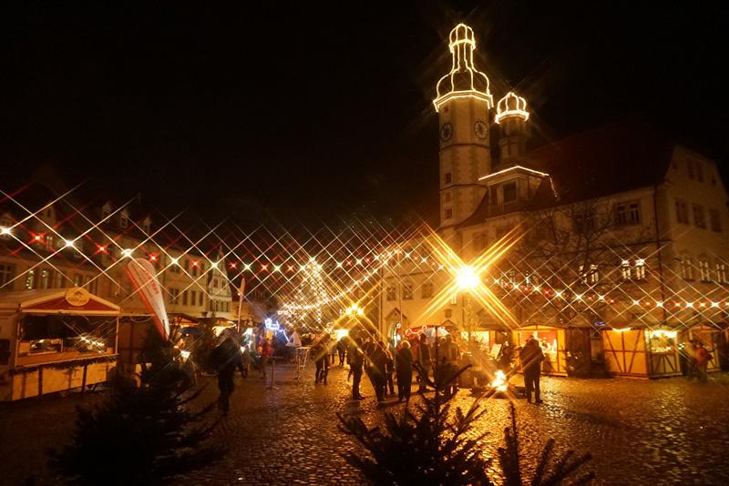 Nachtweihnachtsmarkt Eisenberg